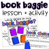 Book Baggie Lesson | Hyrbid Book Shopping Activities | Dig