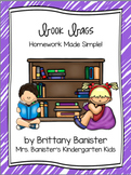 Book Bags:  Homework Made Simple for Primary Grades