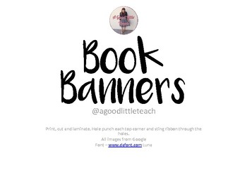 Book Banners!