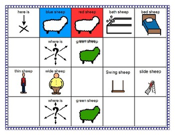 Based on Books Planning Portfolio - Where Is The Green Sheep?