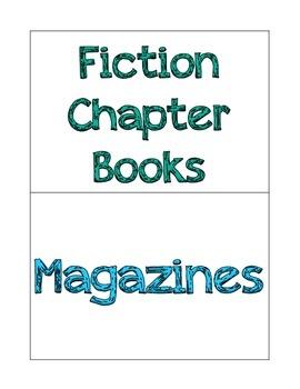 Book Basket Genre Labels
