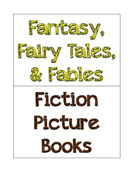 Book Basket Genre Labels
