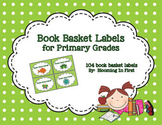 Book Basket Labels