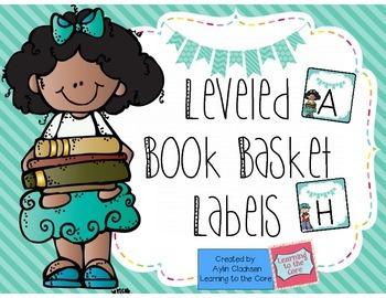 Book Basket Labels {Freebie}