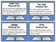 Book Basket Labels (Yellow Stars And Yellow Stripes)