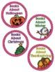 Book Basket Labels- Pink