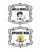 Book Basket Series Labels