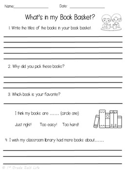 Book Basket Survey