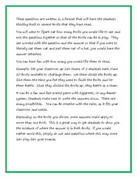 Book Battle Fun - Matilda by Roald Dahl