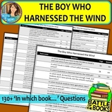 Book Battle Practice Questions for The Boy Who Harnessed the Wind