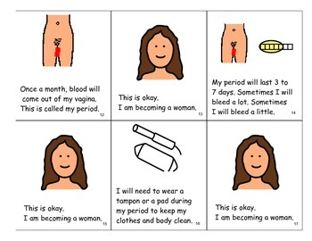 "Book: ""Becoming a Woman"" - Puberty for Girls"