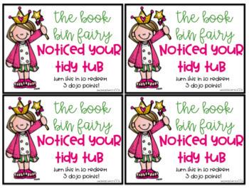 Book Bin Fairy notes