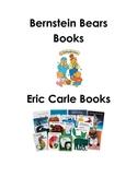 Book Bin Label Set