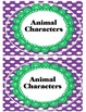 Awesome Bright Beautiful Book Bin Labels
