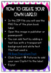 Book Bin Labels! 60+ Labels Black and Neon Chevron Patterns