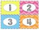 Book Bin Labels: Bright Colors