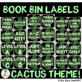 Book Bin Labels (Cactus Theme)