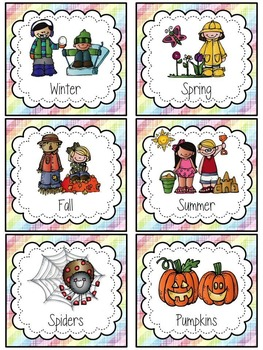 Classroom Library Labels {Soft Rainbow}