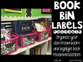 Book Bin Labels-Editable!