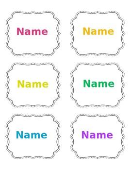 Book Bin Labels (Editable)