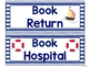 Classroom Library Labels Editable- Nautical