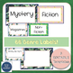 Classroom Library Labels Editable- Tropical