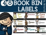 Book Bin Labels {FREE}