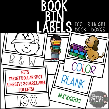 Labels {For STUDENT book bins/boxes}