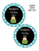 Blue Book Bin Labels, Fountas & Pinnell