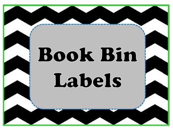 Book Bin Labels {Freebie}