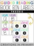 Book Bin Labels: Guided Reading ::Freebie::