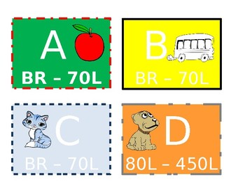 Book Bin Labels: Guided Reading and Lexile Levels