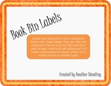 Book Bin Labels {Intermediate Grades}