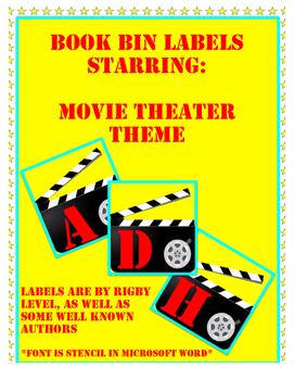Book Bin Labels: Movies
