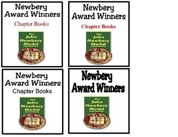 Book Bin Labels - Newbery
