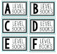 Book Bin Labels {Ocean or Chevron Theme}