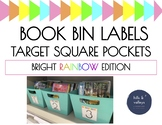 Book Bin Labels - Target Adhesive Pockets
