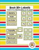 Book Bin Labels (Theme & Guided Reading) - School Kids Stripe