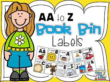 Book Bin Labels - aa to z