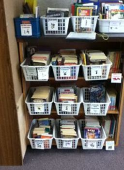 Book Bin Labels for Class Library