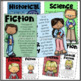 Book Bin Labels, Matching Posters, Bookmarks, &  More! Upper Elementary