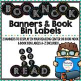 Book Bin Labels {chalkboard}
