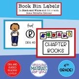 Book Bin Labels for 4th Grade