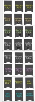 Book Bin Labels for Big Kids:  Chalkboard Theme