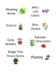 Book Bin Labels for Classroom Library