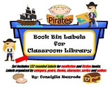 Book Bin Labels for Classroom Library (rounded)