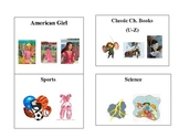 Book Bin Labels for Elementary Classroom Library