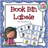 Classroom Library Labels for Grades 3-5