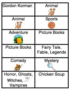 Book Bin Labels for Literacy