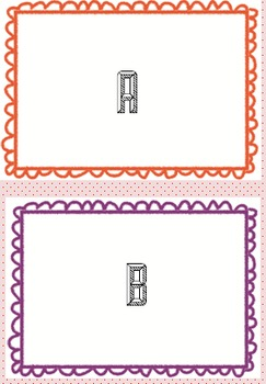 Book Bin Labels for Primary